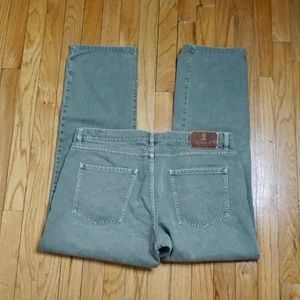 Brunello Cucinelli Jeans - BRUNELLO CUCINELLI Men's Green/Gray Jean Size 52